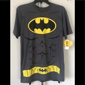 Batman Halloween Costume Medium Shirt with Cape